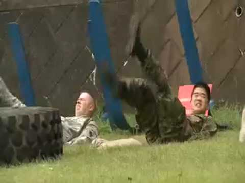 016. U.S. Army & Japan Ground Self-Defense Force Combat Physical Training