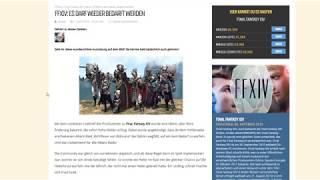 FFXIV: ES DARF WIEDER BEDARFT WERDEN
