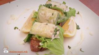 Moirecepti.mk - Салата од тиквички, лимон, нане и маскарпоне