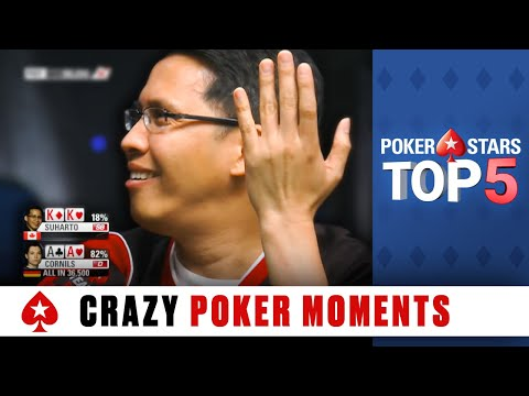 Top 5 WTF Moments | PokerStars