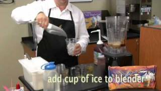 How to make a Mocha Smoothie or Frappe with FrozenX-plosion