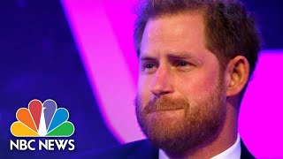 WATCH: Prince Harry Gets Emotional As He Talks About Parenthood | NBC News
