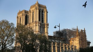 video: Watch: Notre-Dame fire – one year on from the devastating blaze
