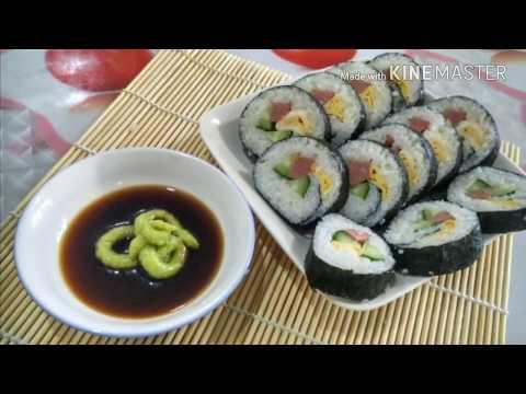 Nasi Gulung Korea ( Gimbap )