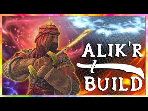 Skyrim SE Builds - The Alik'r Mercenary - Blood & Sand Modde