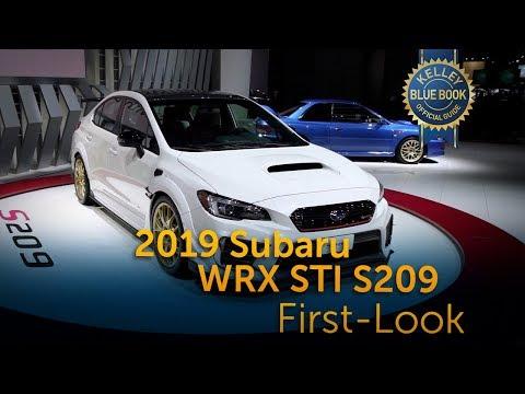 2019 Subaru WRX STI S209 -  First Look