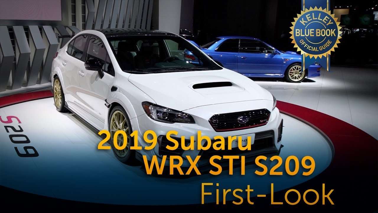 Where Is Subaru From >> 2019 Subaru Wrx Sti S209 First Look Youtube