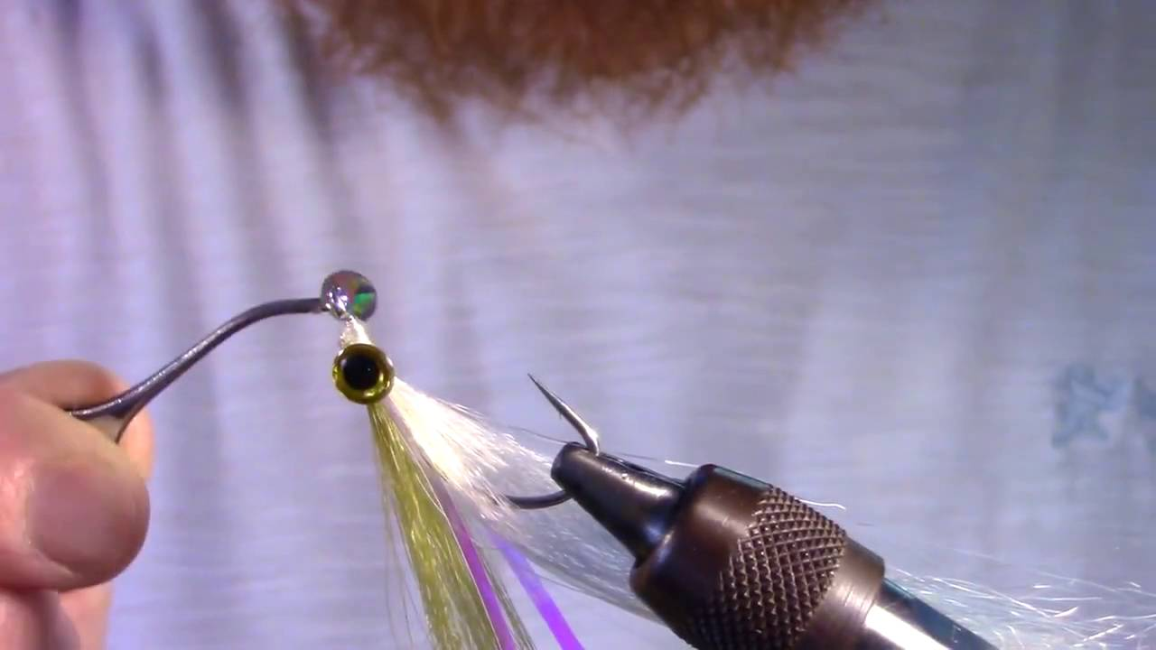 How to tie the Surf Candy Fly Using Solarez UV Cure Resin by Bob Popovics