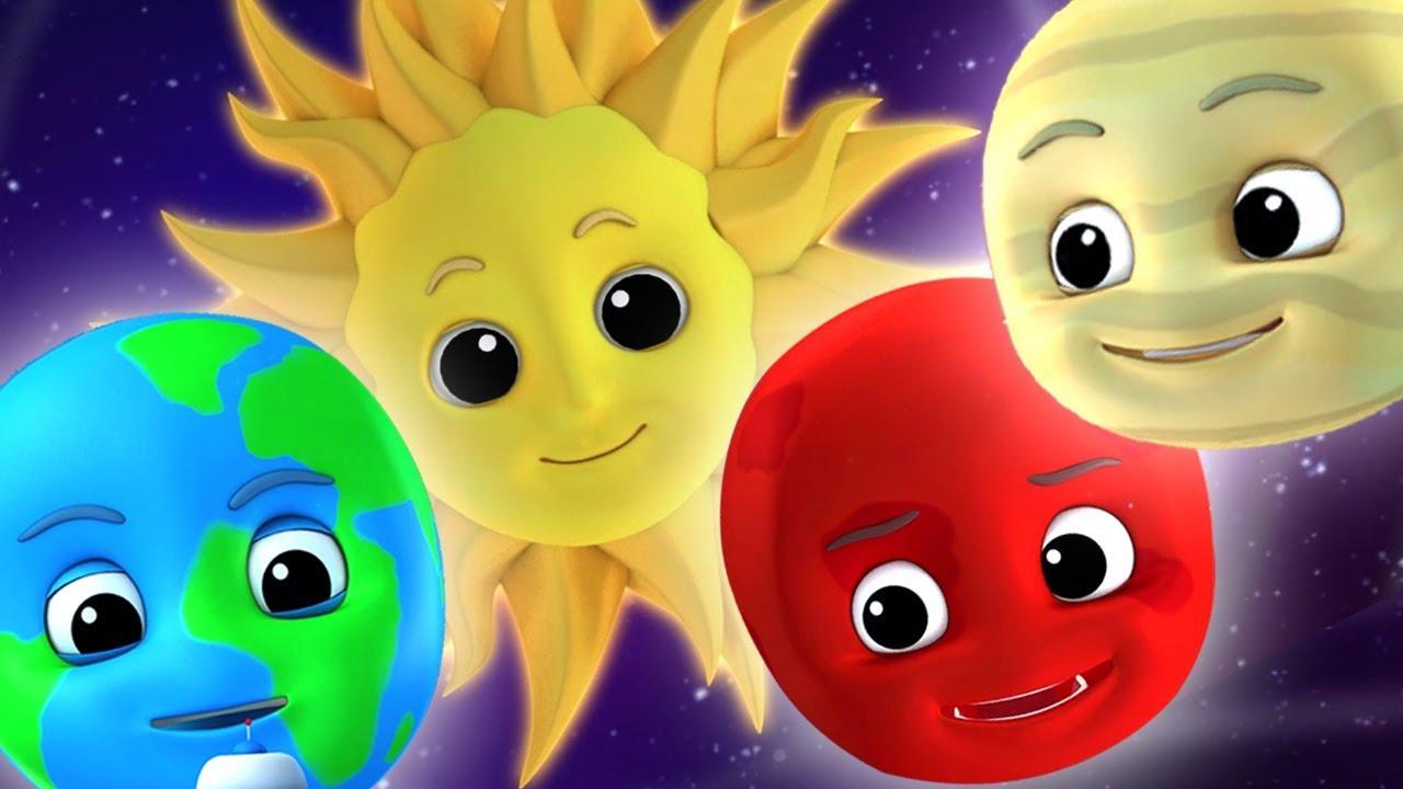 bài hát hành tinh | bài hát hệ mặt trời | ươm vần | Planet Song For Kids | Luke and Lily Vietnam