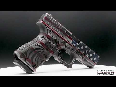 Red White and Brew Glock 19