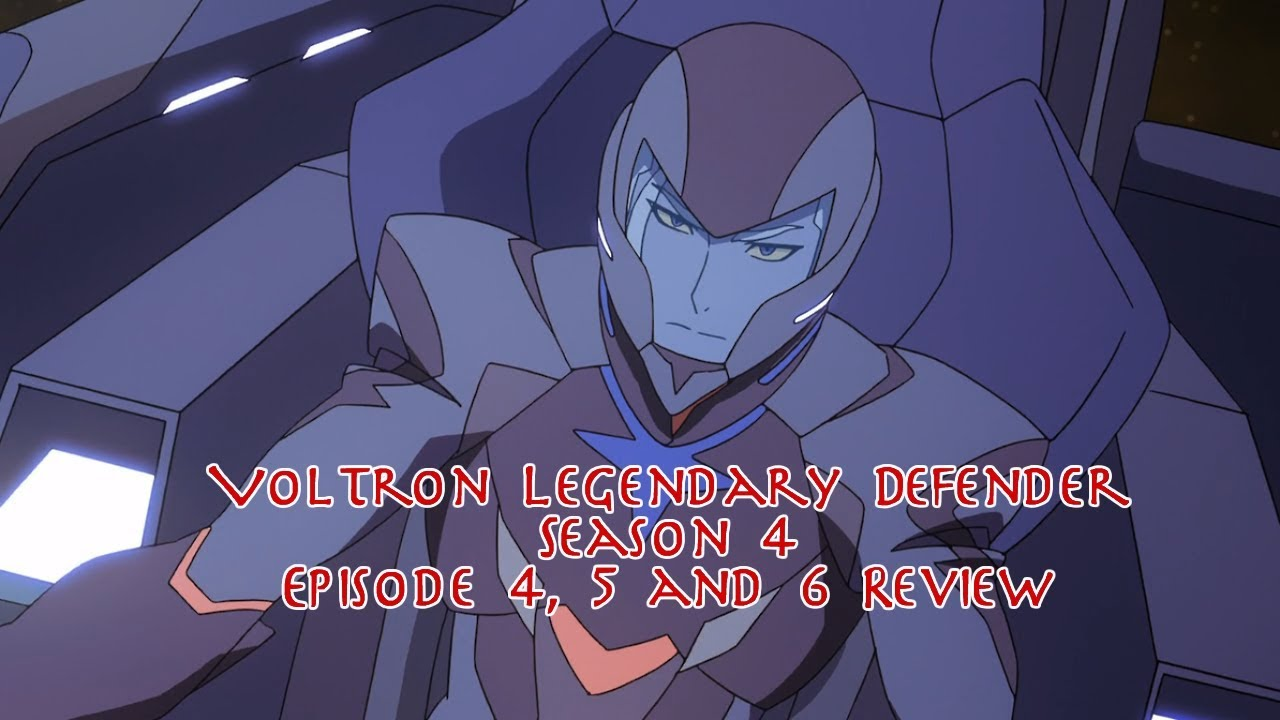 Download Voltron Legendary Defender Season 4 Episode 4, 5 and 6 Review