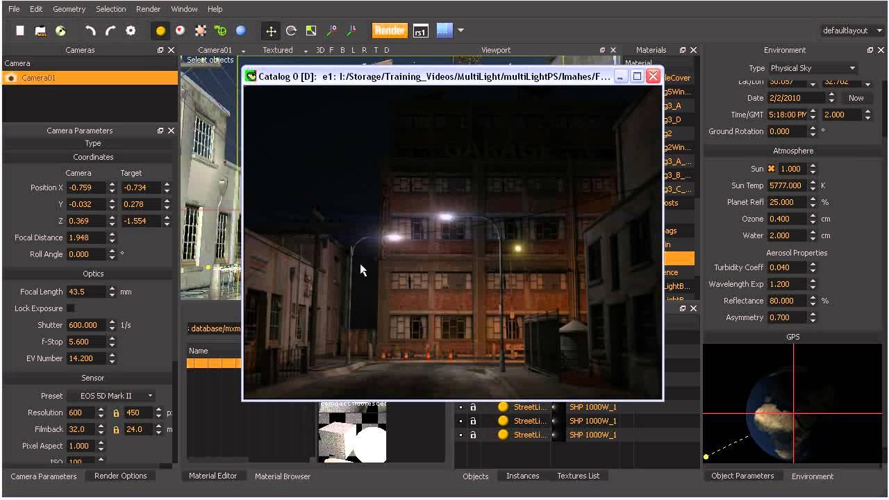alter lighting. Alter Lighting Post Render Using Multilight In Maxwell Studio V