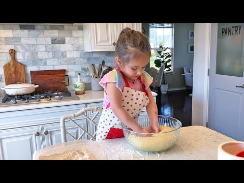 Mia Baking Alone