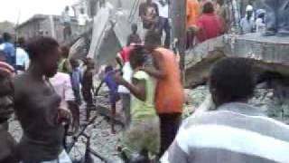Haiti Earth Quake Video - Les Cayes, Haiti 1 -12-10