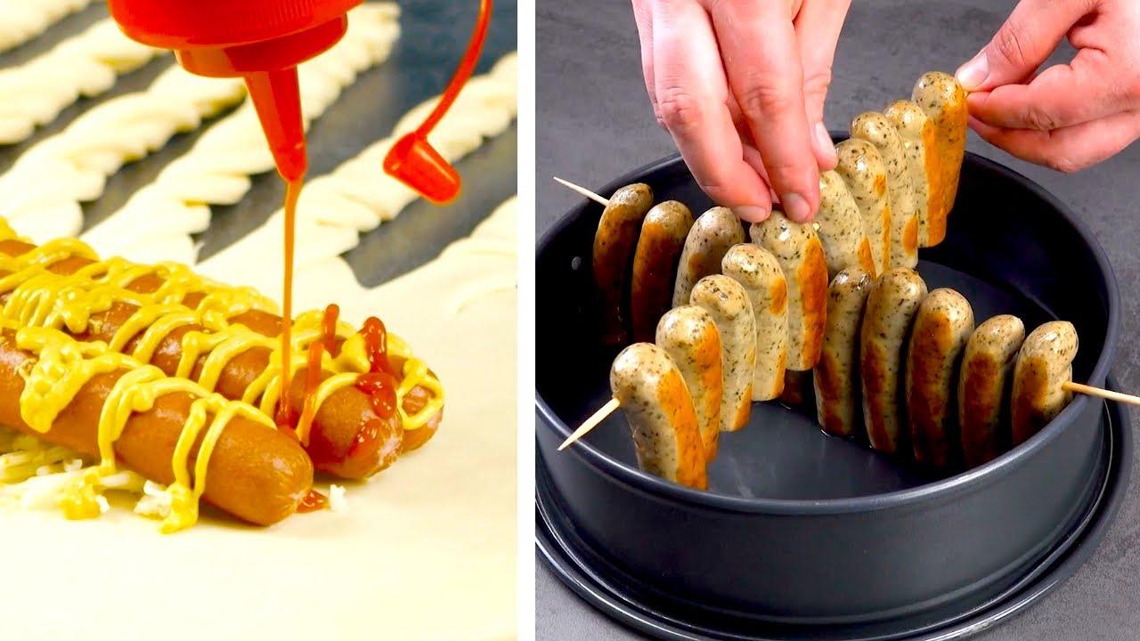 Так Просто и Очень Вкусно! 9 Потрясающих Блюд из Сосисок