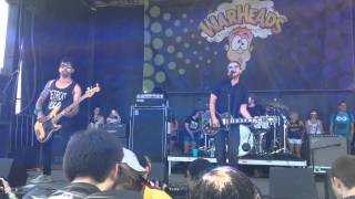 Saves the Day - At Your Funeral - Long Island Warped Tour 7/12/14