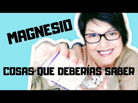 MAGNESIO 10 COSAS QUE DEBES SABER