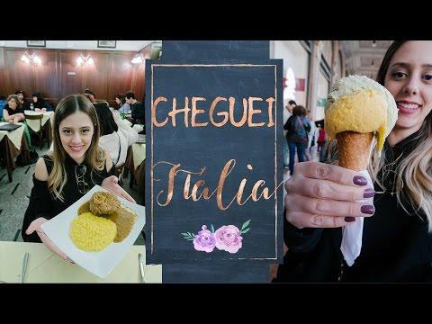 CHEGUEI EM MILÃO :) - vlog Itália