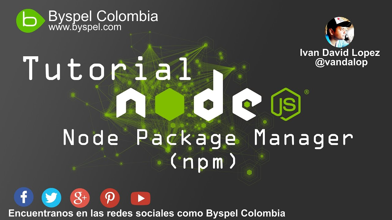 Tutorial Node Js 2 Npm Node Package Manager