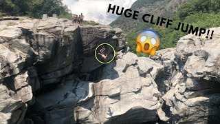 Cliff Jumping in Ticino (65 feet) | VLOG 22