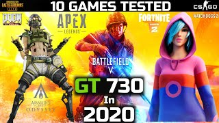 Gt 730 in 2020   Gt 730 Gaming   10 Games Tested