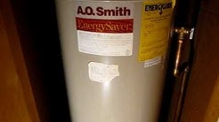 A.O. Smith 40 Gallon Gas Water Heater