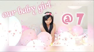 Our Little Princess turn seven #7thBirthday #celebration