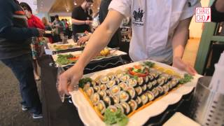 Download Video Korean Food Catering | SRB Events at Yelp Elite Party MP3 3GP MP4