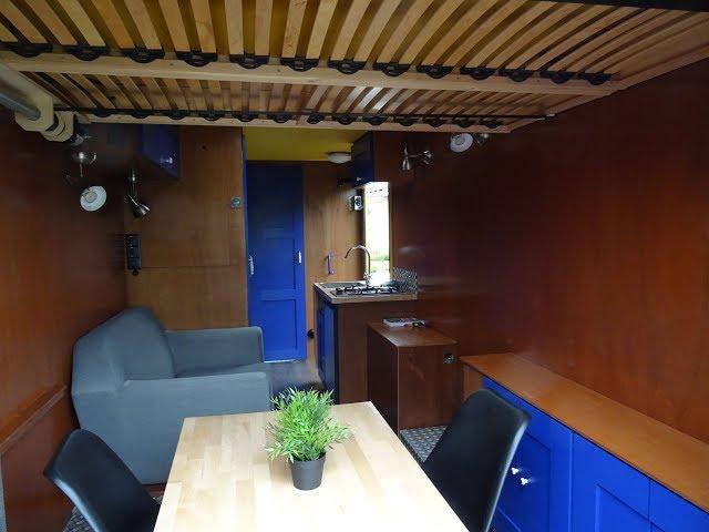 Hefbed - elevator bed - camper - tiny home