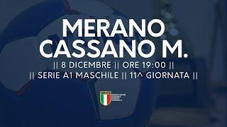 Serie A1M [11^]: Merano - Cassano Magnago 19-26