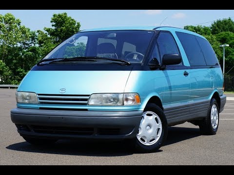 1996 toyota previa sc supercharged youtube. Black Bedroom Furniture Sets. Home Design Ideas