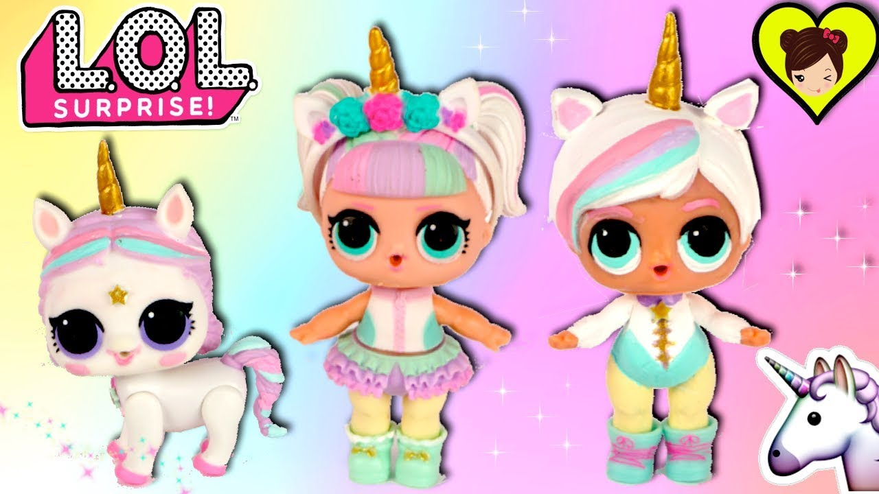 La Familia Lol Unicornio Con Hermanito Y Nueva Mascota Diy Lol Pet