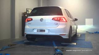 VW Golf 7 tdi 150cv Reprogrammation Moteur @ 181cv Digiservices Paris 77 DYno