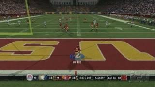 NCAA Football 07 Xbox 360 Gameplay - USC On O