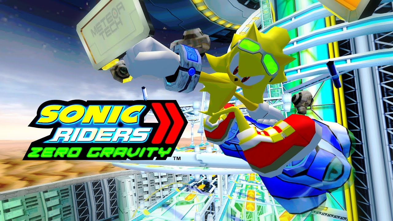 how to play sonic riders
