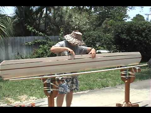 Building a Balsa Wood Surf Board