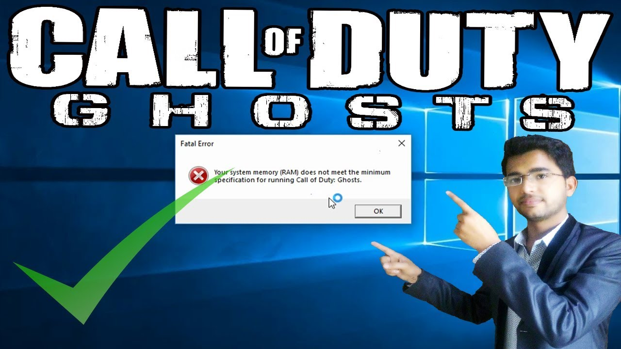 Call Of Duty Ghosts Fatal Error Disc Read Error