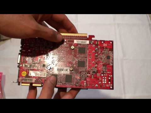 Visiontek ATI AMD Radeon HD 5670 1GB GDDR5 Unboxing Review & Taking off Cooler