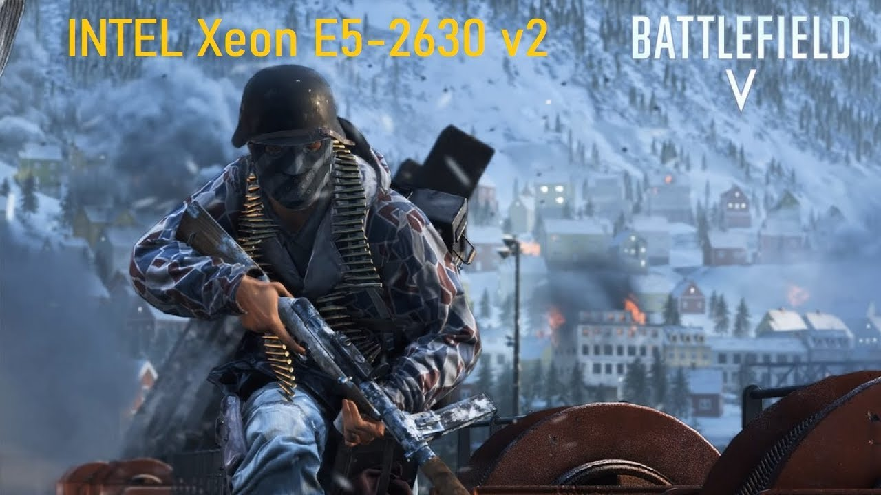 Battlefield V(Multiplayer). FPS Test INTEL Xeon E5-2630 v2 (NVIDIA GTX 1050)