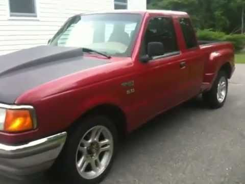 1995 ford ranger 5 0 chevy engine video 1 youtube. Black Bedroom Furniture Sets. Home Design Ideas
