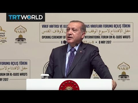 Erdogan slams Israel over plans to ban Muslims' call to prayer