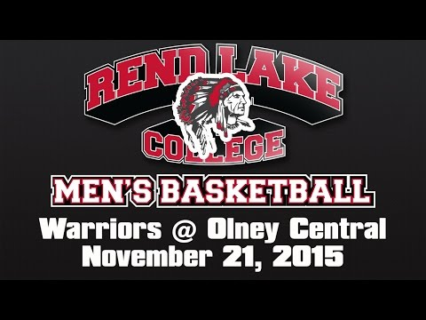 Men's Basketball: Rend Lake College Warriors at Olney Central College Knights