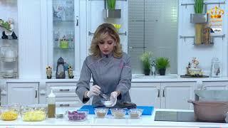 مطبخ رمضان   سمك دنيس محشي جمبري مع الشيف علا نيروخ