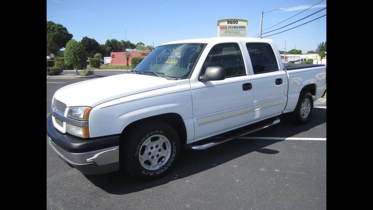 sold 2004 chevrolet silverado 1500 ls crew cab meticulous motors inc florida for sale youtube. Black Bedroom Furniture Sets. Home Design Ideas
