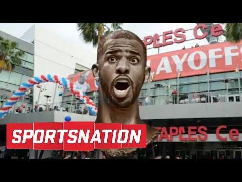 Does Chris Paul Deserve A Statue Outside Staples Center? | SportsNation
