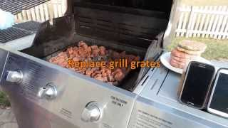 Boost your grill performance by installing a Lava Rock Grill Converter