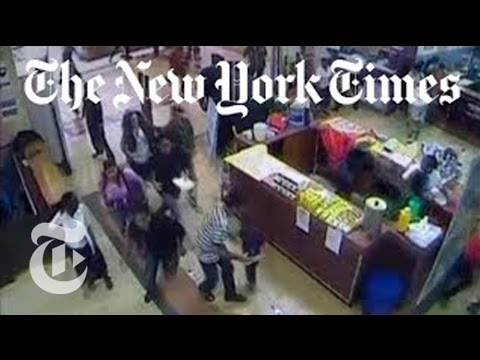 Kenya Mall Attack - New Surveillance Footage of Nairobi Shooting | The New York Times