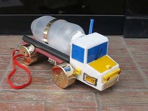 Maqueta Escolar Medio De Transporte Terrestre Camion Youtube