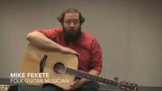 Mike Fekete talks about the history of American Folk Guitar