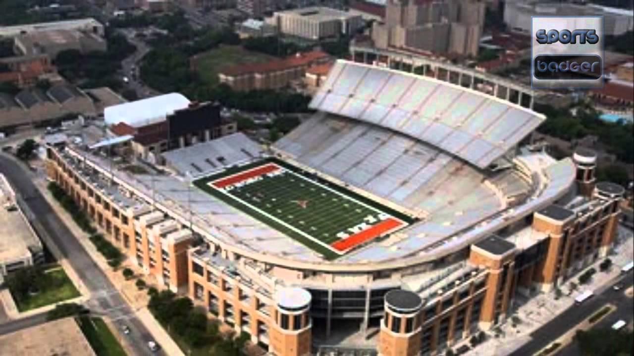 Top 10 Biggest American Football Stadiums - YouTube
